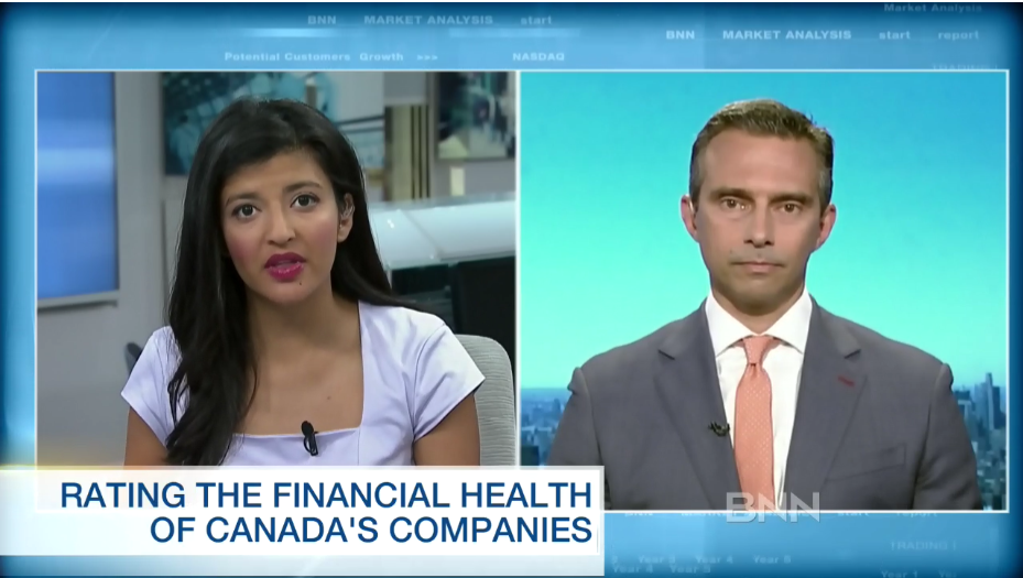 A report card on the financial health of Canada's companies
