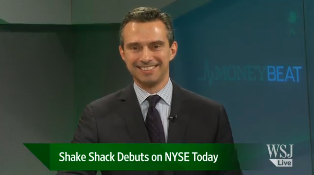 WSJ Live: Shake Shack Debuts on NYSE