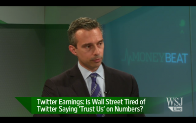 WSJ Live: Is Wall Street Tired of Twitter's Numbers?